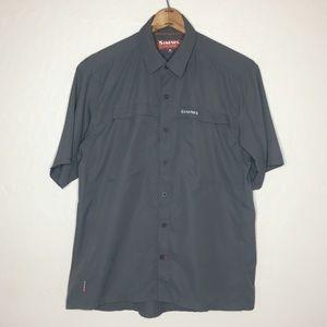 Simms Vented fishing button up shirt #273